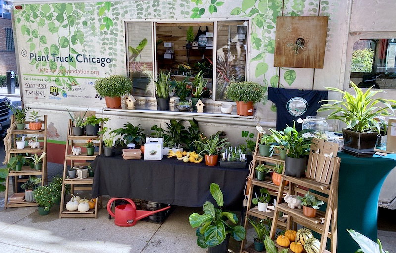 Plant Truck Chicago is Coming to Lakeshore East Park