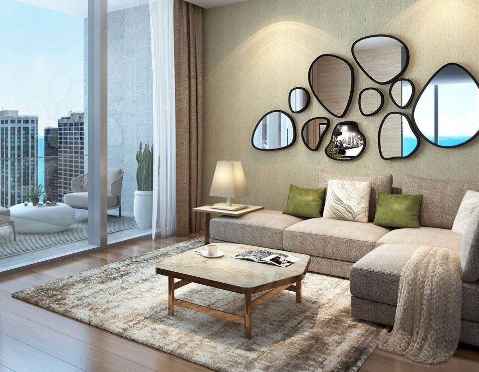 A Look Inside Vista Tower's Residence 3608