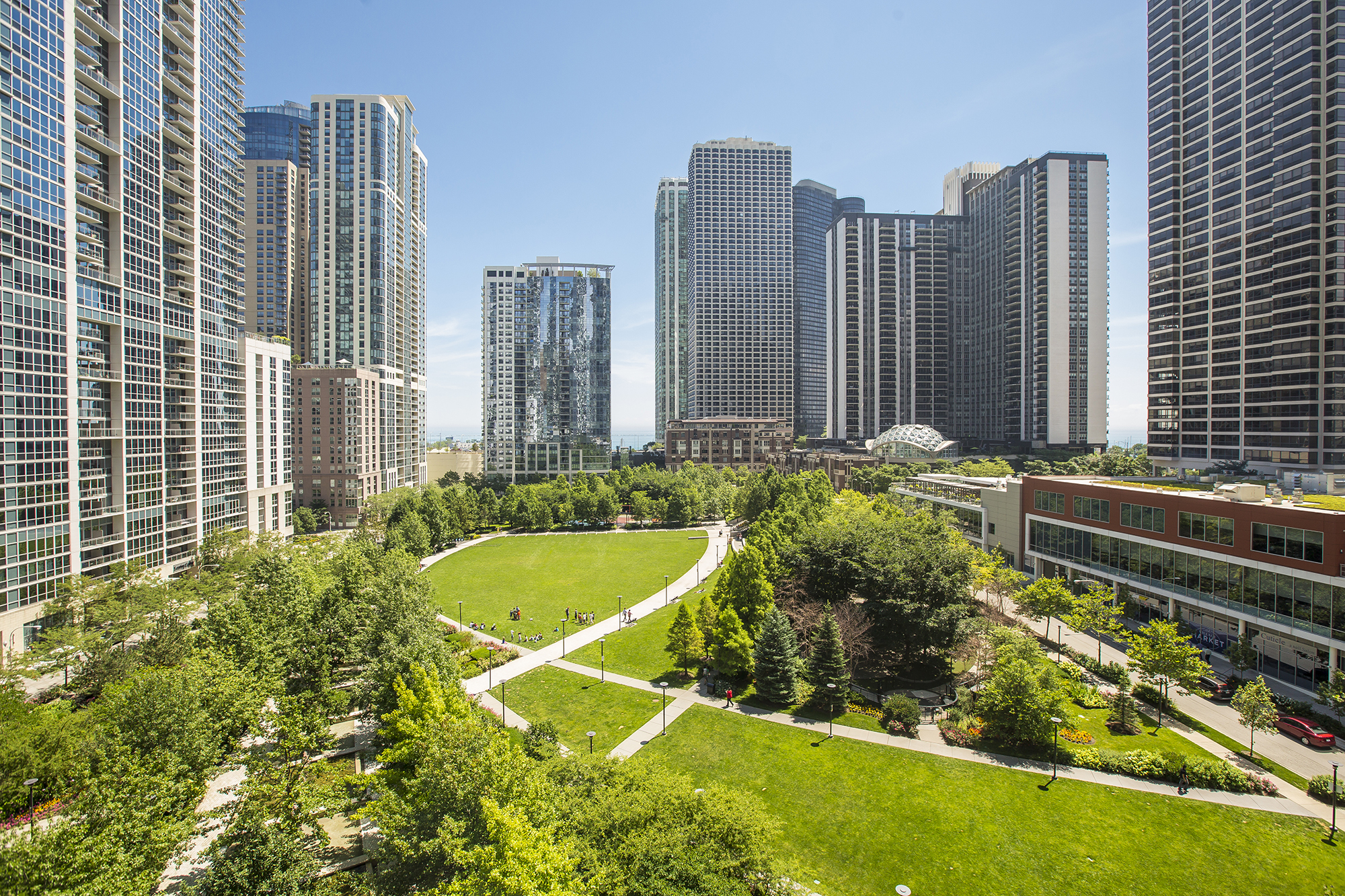 Image of Chicago attractions reopening in Lakeshore East neighborhood