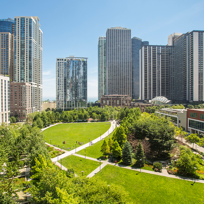 image of lakeshore east park