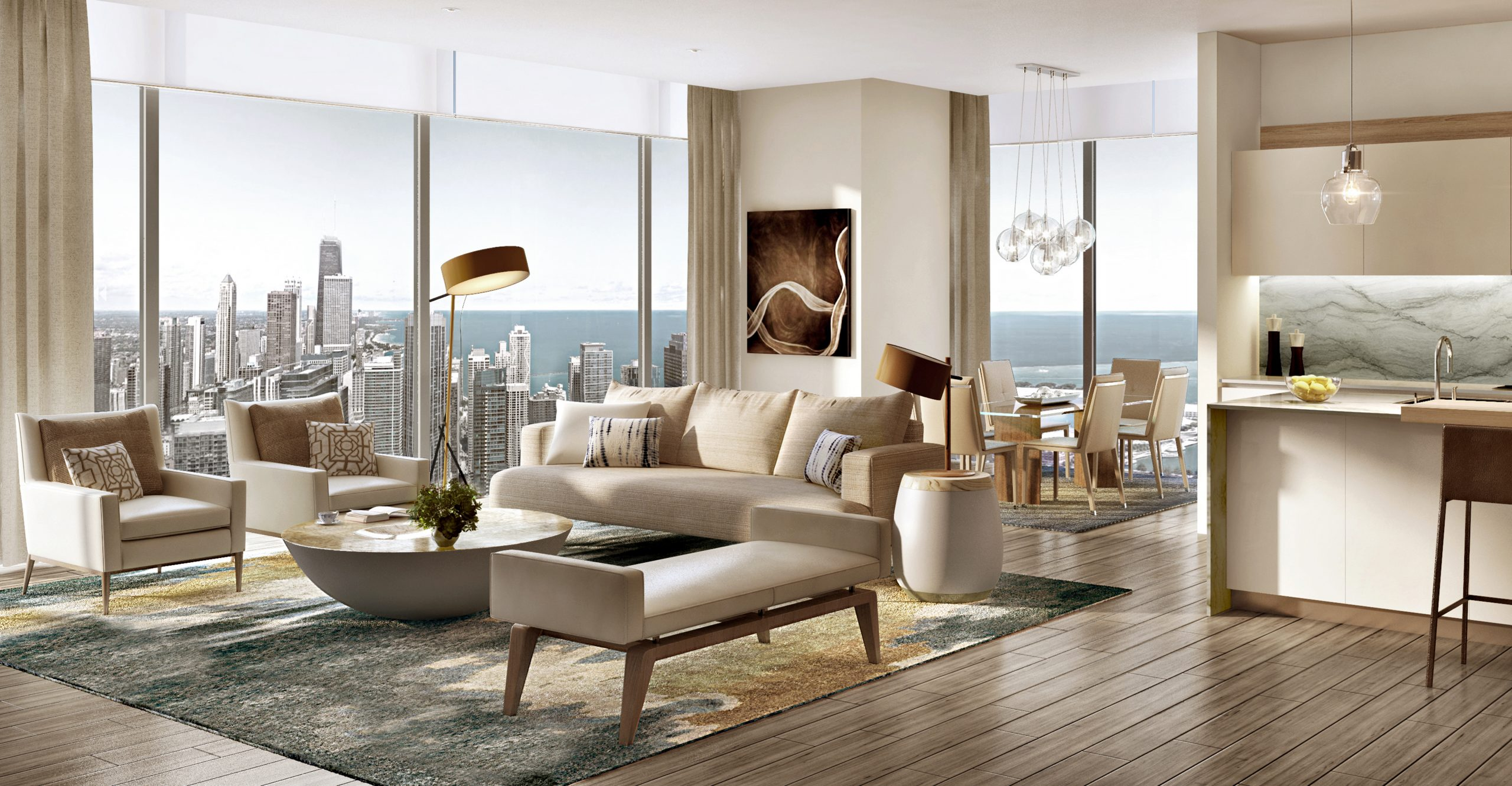 Take an Exclusive Look Inside the St. Regis Chicago's Luxury Residences