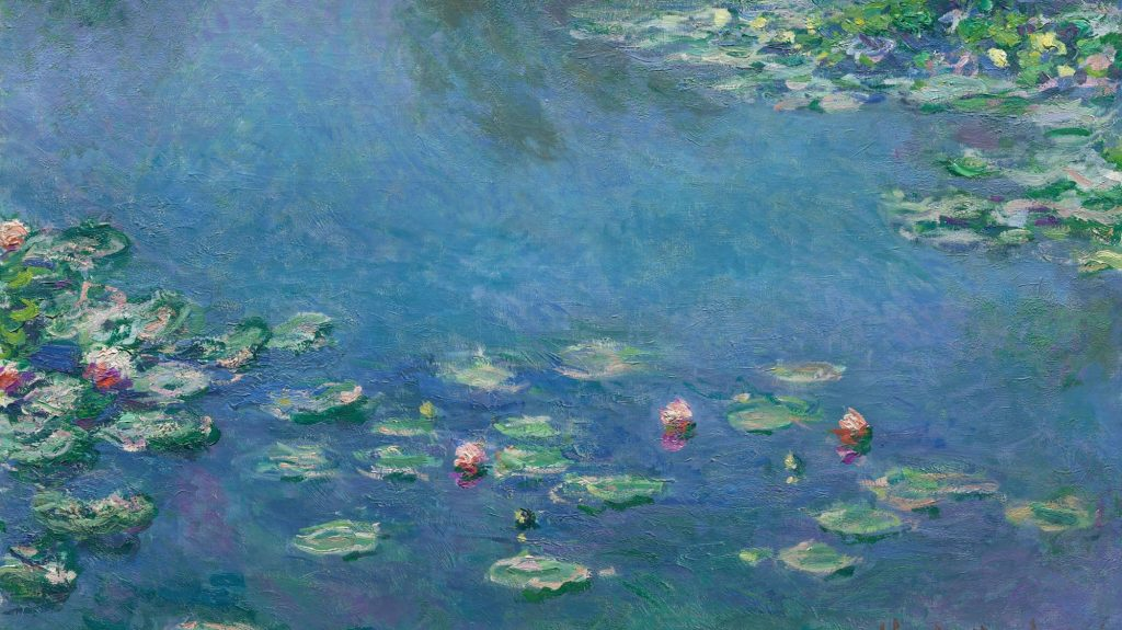 Image of Monet's Water Lilies at the Chicago Institute of Art
