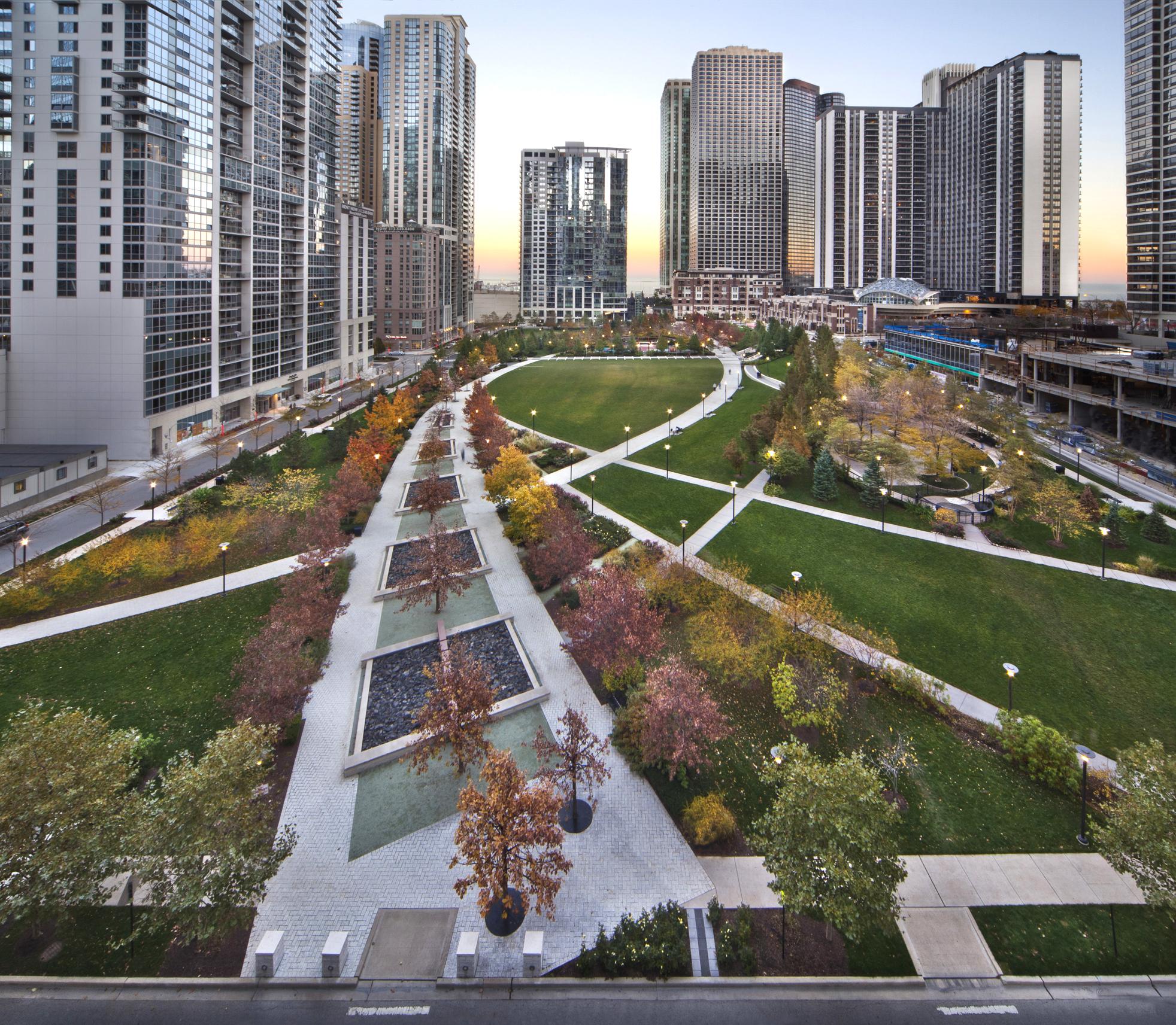 Lakeshore East Park: Winner of the ILASLA 2020 Landmark Award