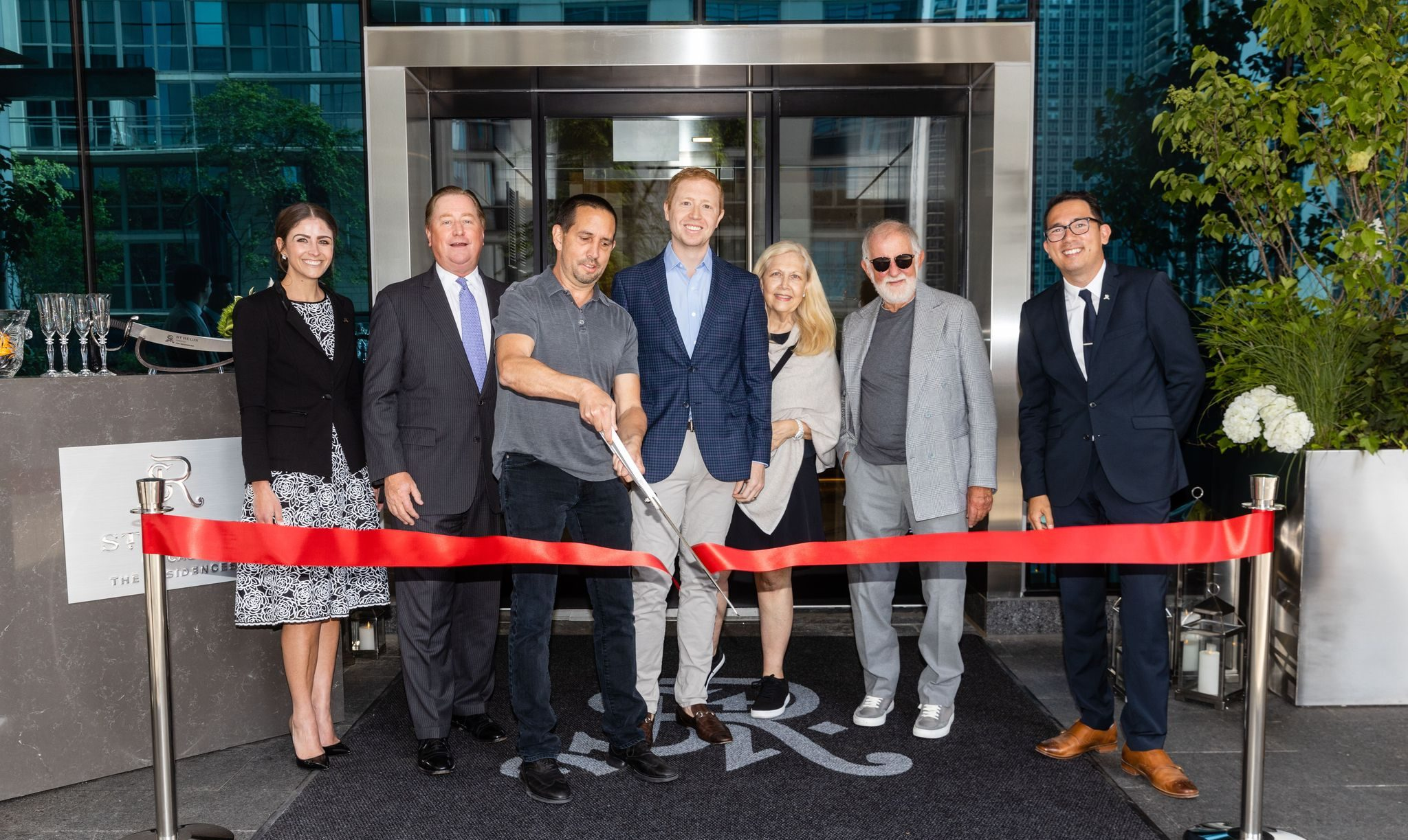 """The St. Regis Chicago """"Sabres"""" The Moment and Welcomes The Residences"""