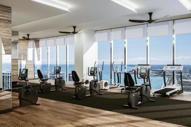 image of st. regis fitness room