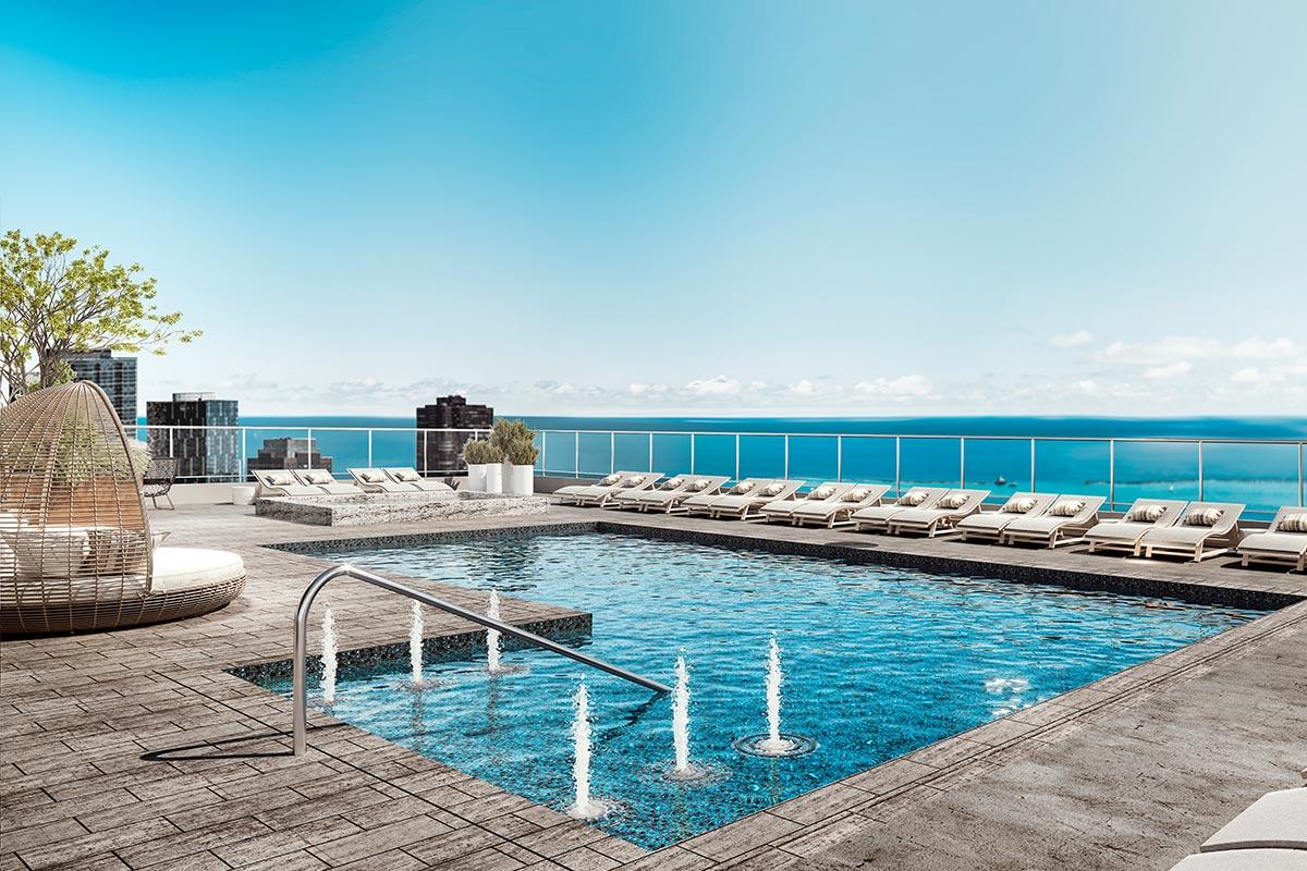 image of st. regis rooftop deck