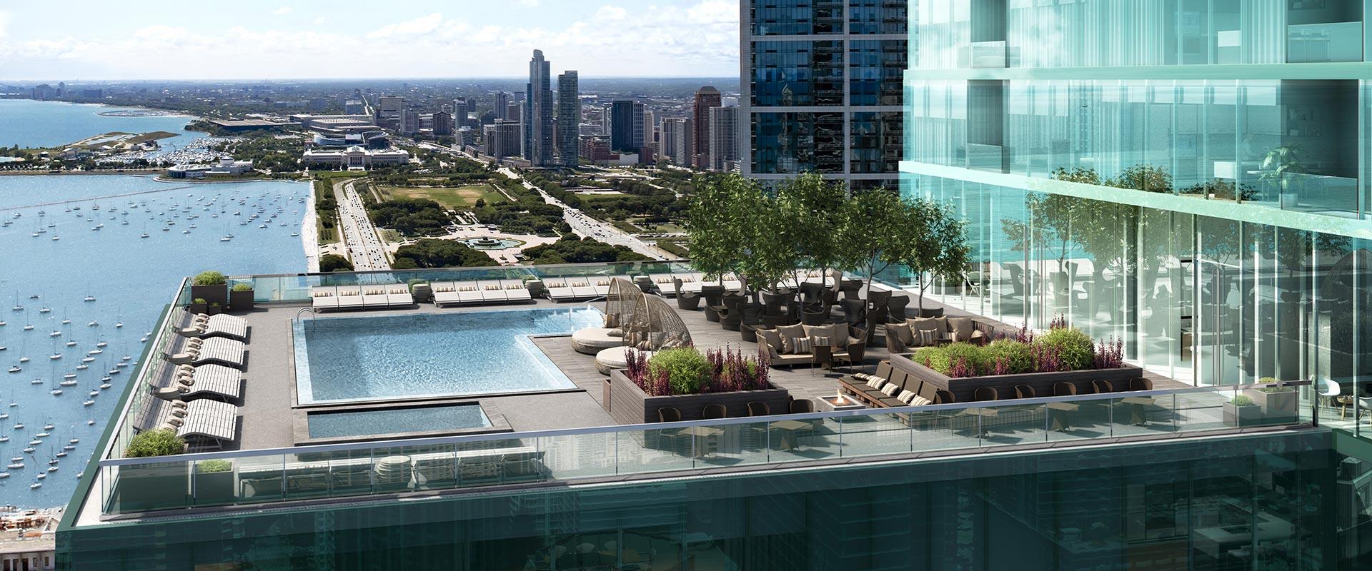 image of st. regis roof deck