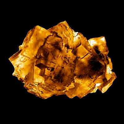 image of raw topaz