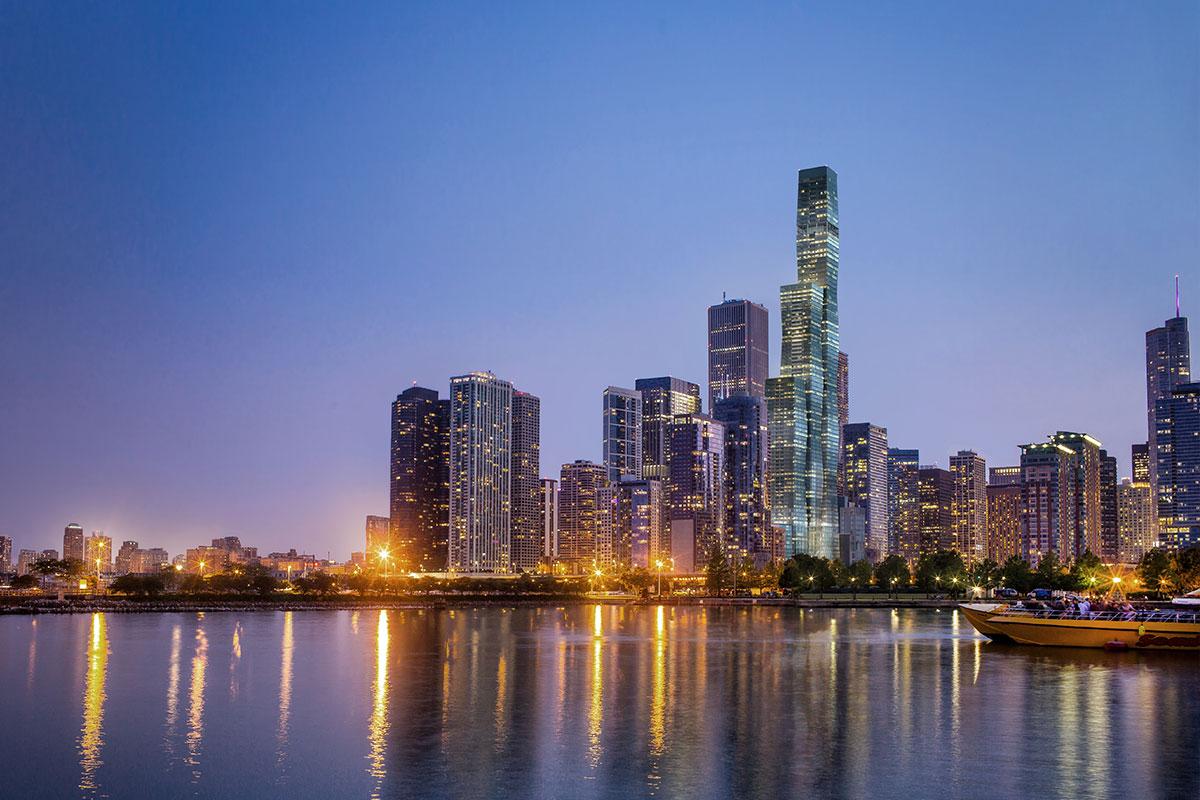 Chicago luxury condominium building, St Regis Chicago